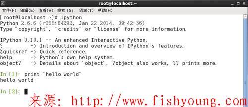Linux系统下的ipython安装